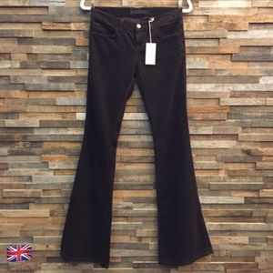 NWT J Brand Brown Corduroy Flares